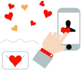 dating în viața reală vs on- line